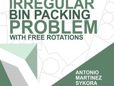 Metaheuristics for the Irregular Bin Packing Problem with free rotations