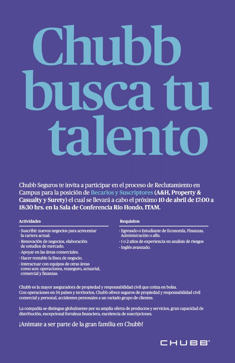 Bolsa de Trabajo invita a la presentación y examen del Programa de ...