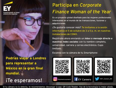Convocatoria Corporate Finance Women of the Year – EY México
