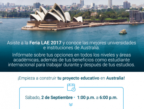 Feria educativa australiana 2017