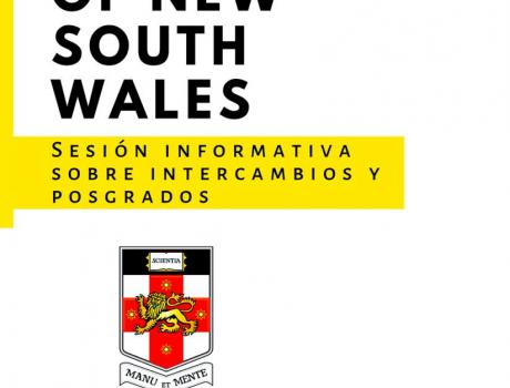 Sesión Informativa sobre Intercambios y Posgrados de la Universidad de New South Wales