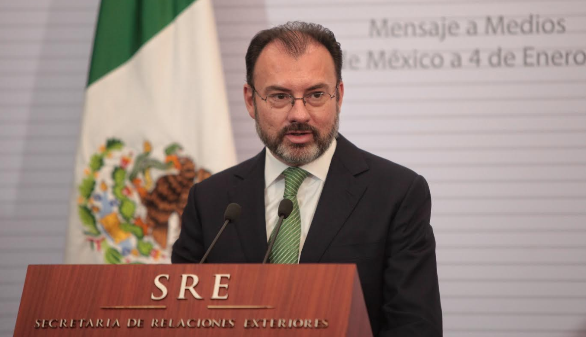 Dr. Luis Videgaray, Foreign Relations Secretary